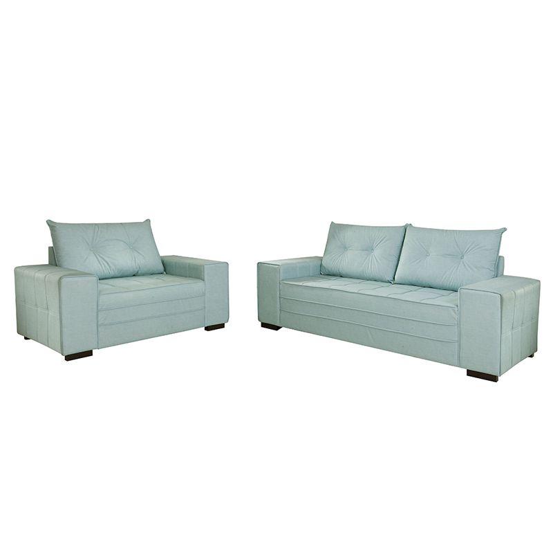 Conjunto de sofás 02 e 04 lugares Turim