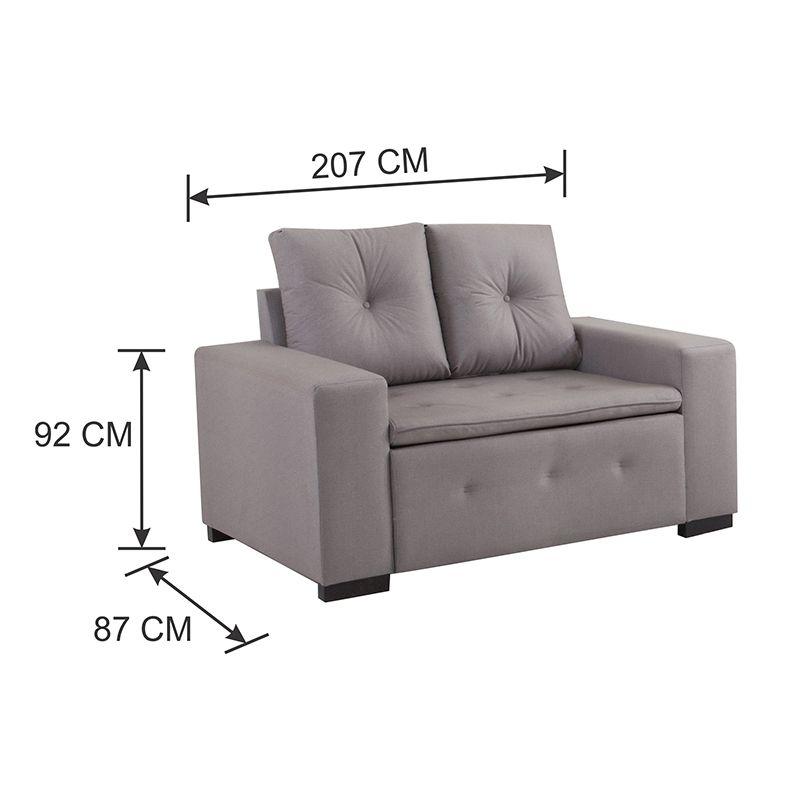 Conjunto de sofás 02 e 04 lugares Valença