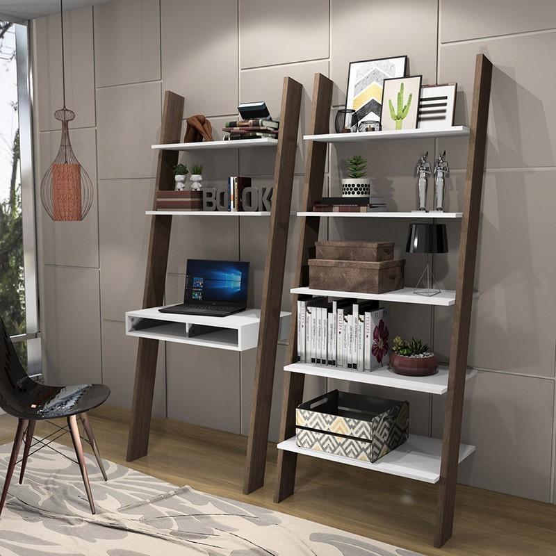 Conjunto Estantes Escada Modular Multiuso Minas Office