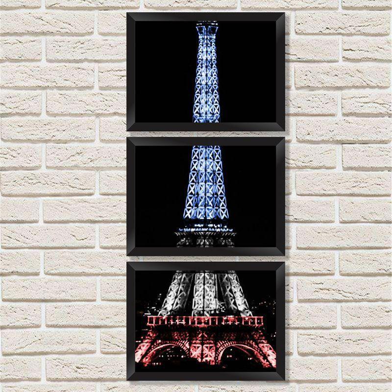 09e592ef7 Conjunto Quadros Decorativos com Moldura e Vidro Padrão Geométrico Minha  Casa Merece - Móveis e Decoração para sua Casa