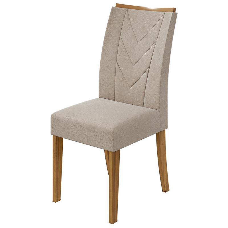Conjunto Sala De Jantar Nevada Mesa 100 Cm E 04 Cadeiras Atacama