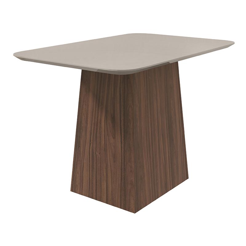 Conjunto Sala De Jantar Nevada Mesa 120 Cm e 04 Cadeiras Celebrare Lopas