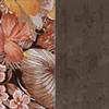 Floral Cód. 180 / Marron Cód. 170