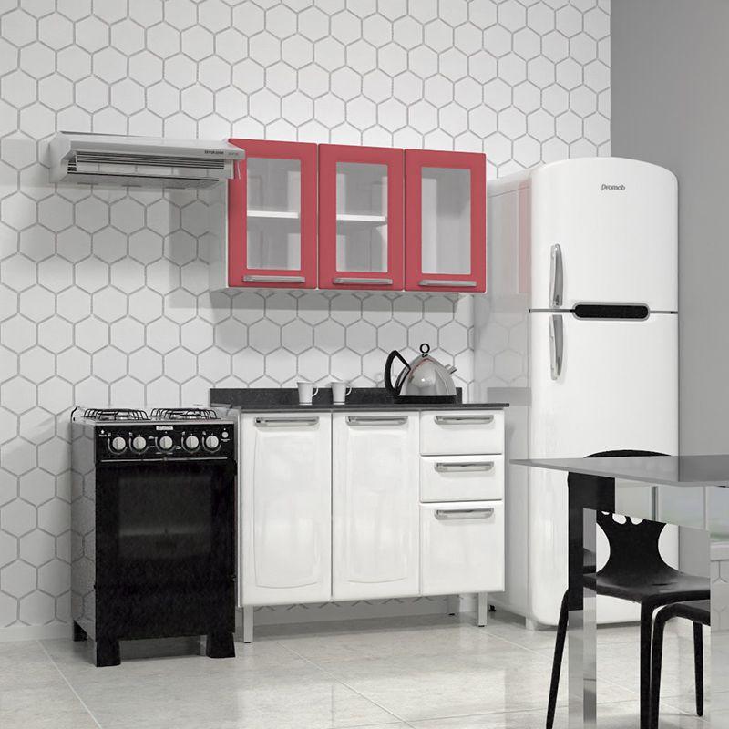 Cozinha Compacta Itatiaia Luce - Angélica