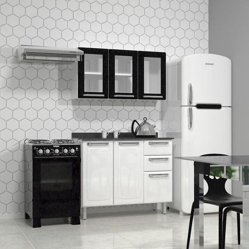 Cozinha Compacta Itatiaia Tarsila - Débora