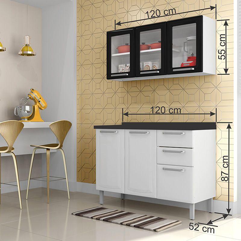 Cozinha Compacta Itatiaia Tarsila