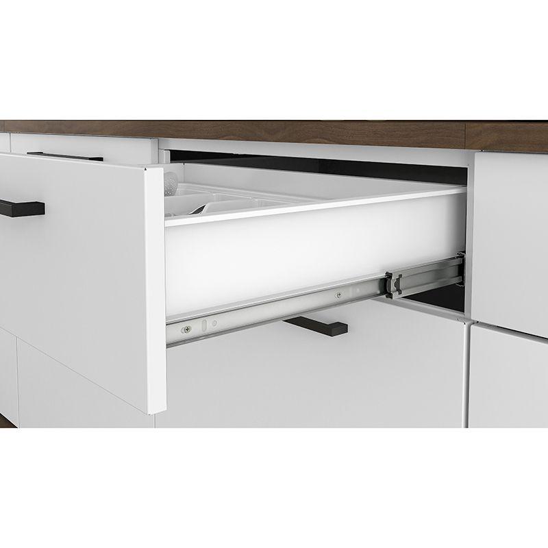 Cozinha Itatiaia Exclusive 4 peças 3V Branco Matte.