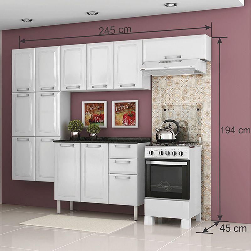 Cozinha Itatiaia Luce 04 peças