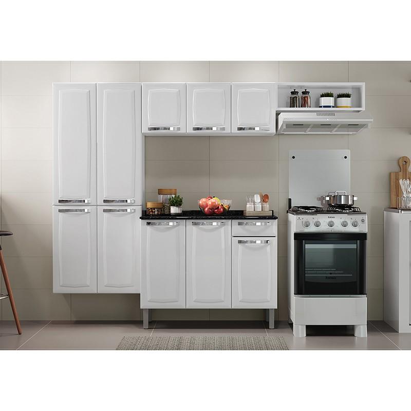 Cozinha Completa Rose com Balcão Itatiaia 04 peças