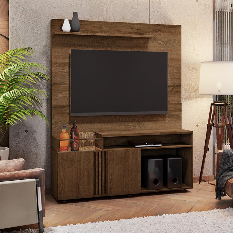 Estante Home Com Mini Bar Para Tv Até 65 Polegadas Love JCM