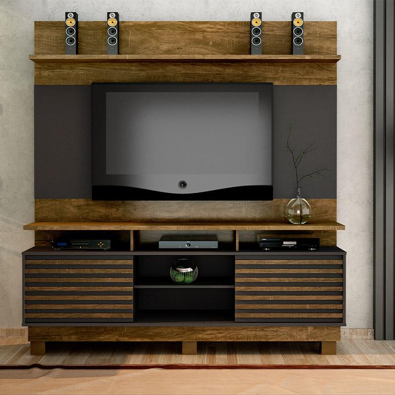 Estante Home Texas Para Tv Até 60 Polegadas Valdemóveis