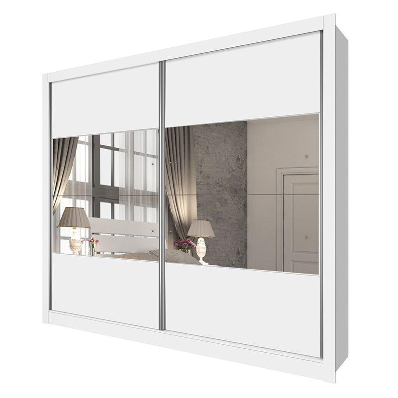 Guarda Roupa Casal 02 Portas 04 Espelhos 06 Gavetas Flórida
