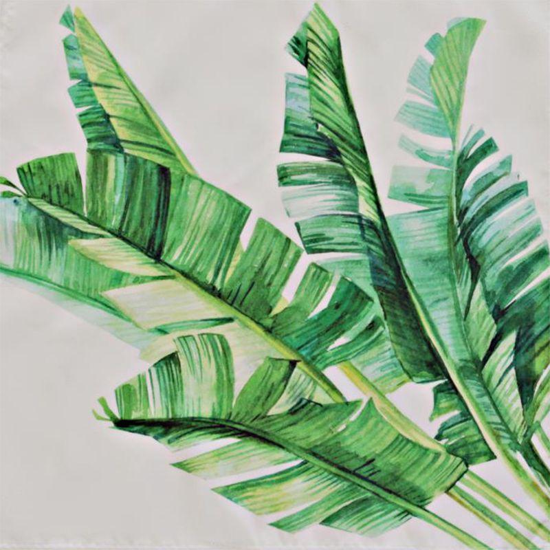 Guardanapo em Tecido Folhas