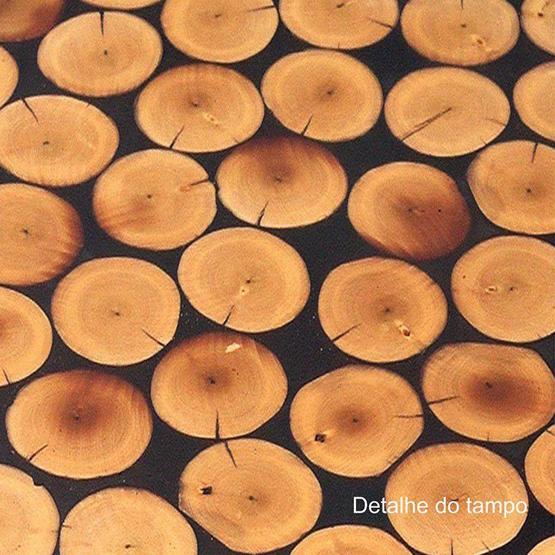 Mesa de Centro em Madeira Natural Ouro Preto 004 Árvore de Minas