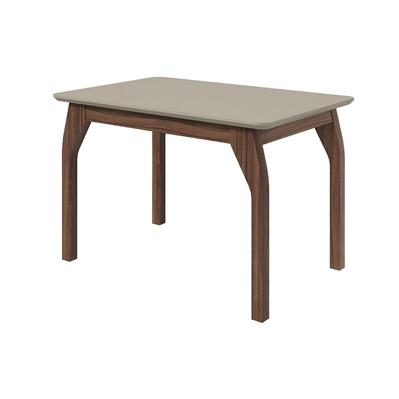 Mesa de Jantar 160 cm Saara Canto Copo Lopas