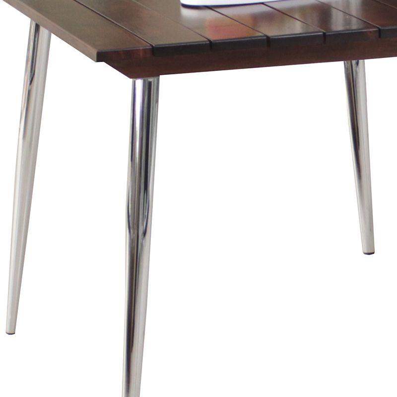 Mesa de jantar com tampo em Madeira 90x90 cm Modelo 470