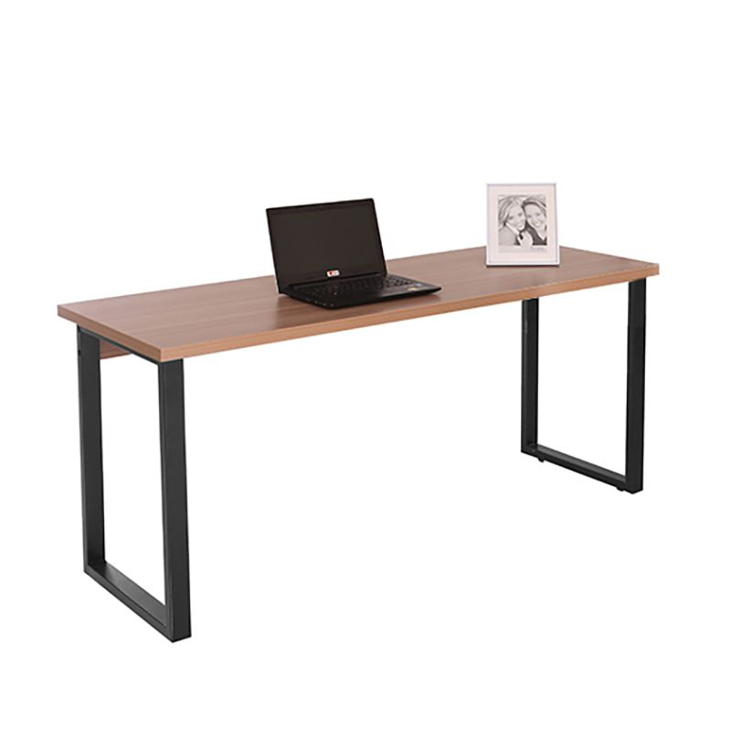 Mesa para escritório 160 x 60 cm com pés em aço Safira