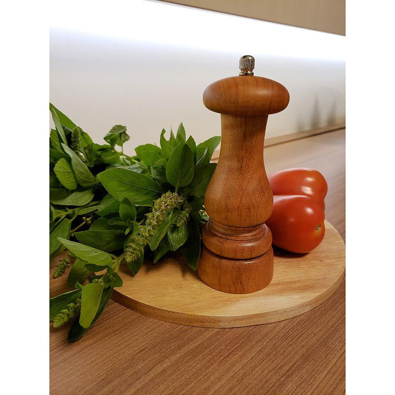 Moedor De Pimenta Profissional Médio Em Madeira 102