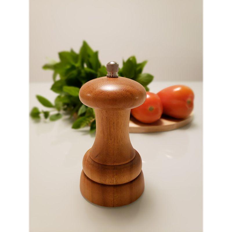 Moedor de Pimenta Profissional Pequeno em Madeira PepperMill 100