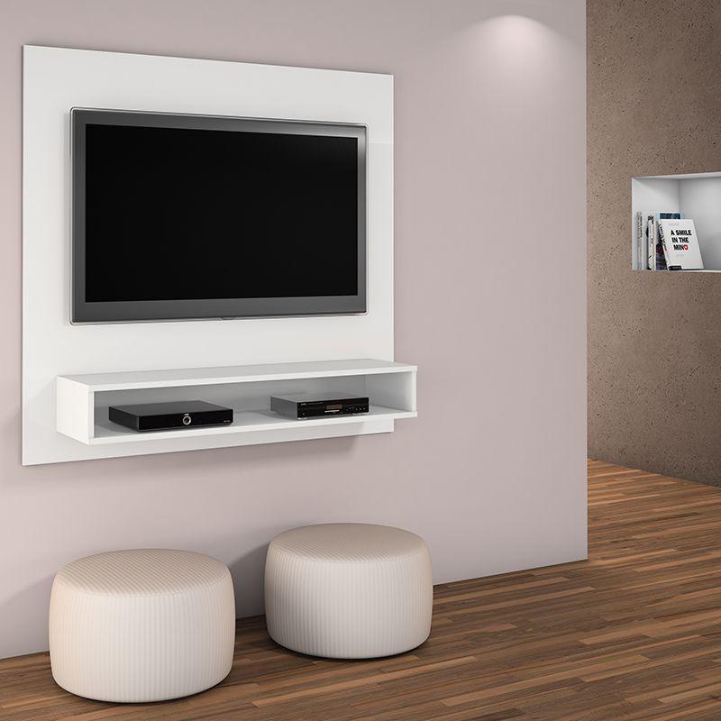 Painel TV até 47 polegadas Níquel JCM