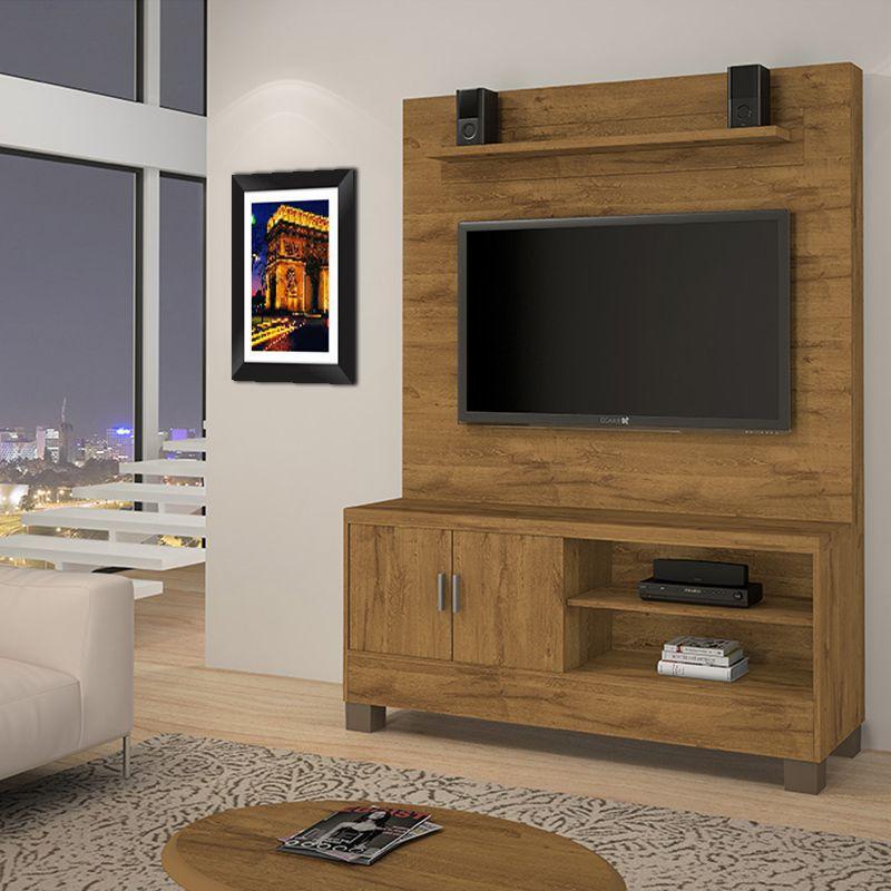 Quadro Decorativo com Moldura em Madeira Maciça e Vidro Triunfo C027