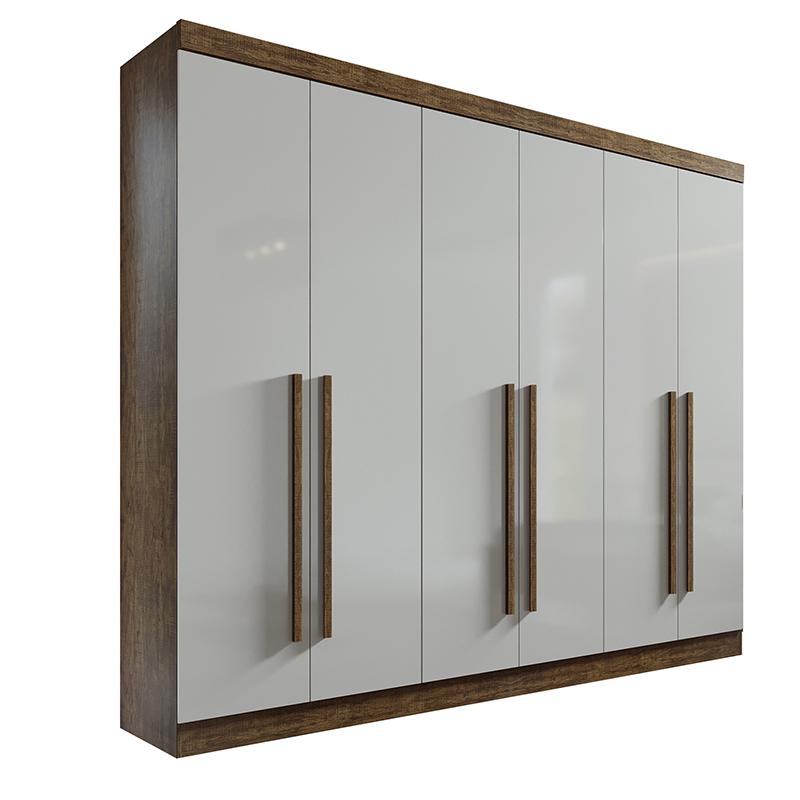 Quarto Casal Da Vinci Plus 06 Portas D'doro