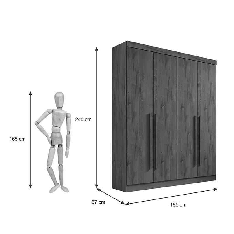 Quarto Da Vinci Plus 04 Portas D'doro