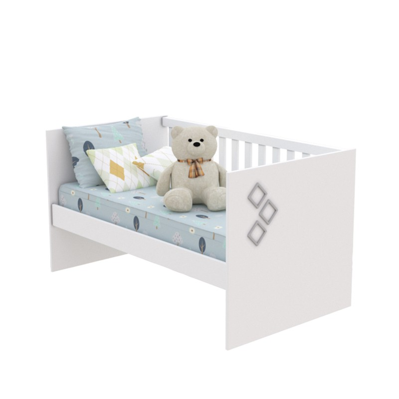 Quarto De Bebê Ternura 03 Portas Com Pés Tcil