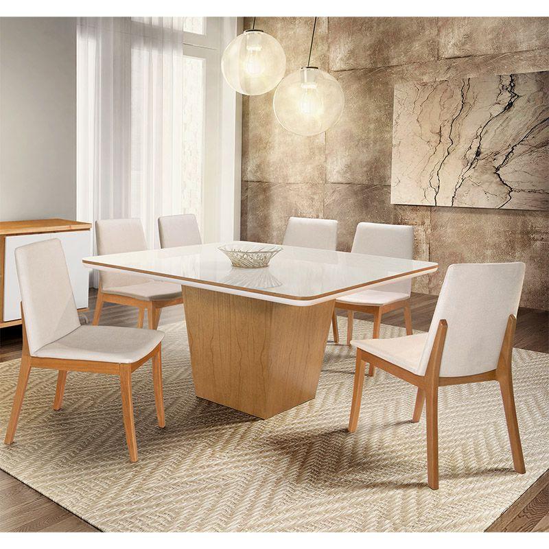 Sala De Jantar Tiradentes Mesa Quadrada 150 Cm 08 Cadeiras