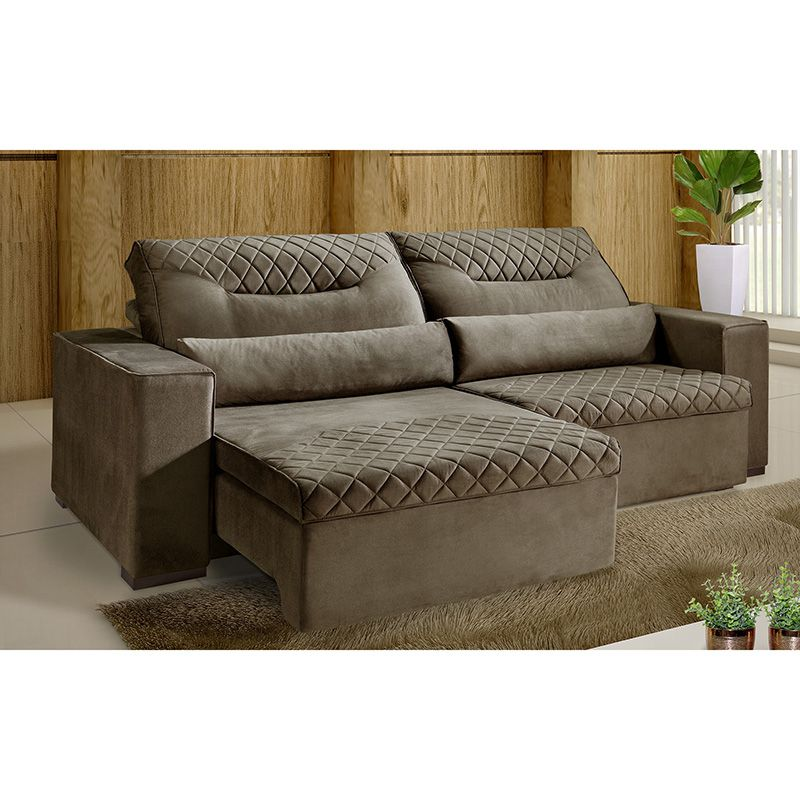 Phenomenal Sofa Avila 4 Lugares Retratil E Reclinavel Pdpeps Interior Chair Design Pdpepsorg