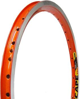 Aro Vzan Aero Escape V-brake Laranja Neon 26x36 furos