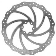Disco / Rotor Winzip Ondulado 6 furos - 203mm