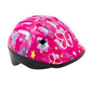 Capacete Infantil para bicicleta Rosa / Florido