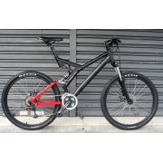 Bicicleta Bike Full Suspension Astro Career Tam L - aro 26 - 27v