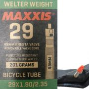Câmara para bike Maxxis Welter Weight 29x1.90/2.35 válvula Presta 48mm