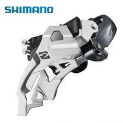 Câmbio Dianteiro Shimano Alivio M4000 9V abraçadeira baixa (Dual Pull)