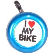 Buzina/Campainha  Trim-Trim I Love My Bike Azul