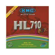 Corrente KMC HL-710 100L Branco Bmx/Freestyle