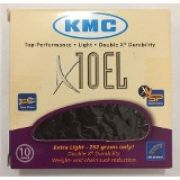 Corrente 10v Semi- Vazada KMC X-10EL Black Tech