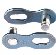 Emenda de Corrente / MissingLink / Power Link KMC 6/7/8v Silver - Prata (2 UNIDADES)