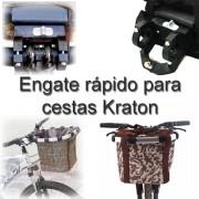 Engate rápido para cestas de bicicletas Kraton 3132