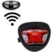 Luz traseira, seta e pisca alerta sem fio c/ bolsa Q-Lite QL-273 Multi 10 LEDs