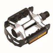 Pedal tipo MTB em Alumínio com Refletores