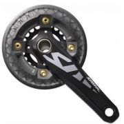 Pedivela Shimano Saint Integrado M815 38x22d Hollowtech 2 / Protetor