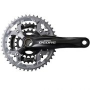 Pedivela Shimano Deore Integrado M 591 48x36x26 9v Hollowtech