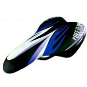 Selim DDK 1217A JR - BMX / Freestyle infantil - Preto e Azul