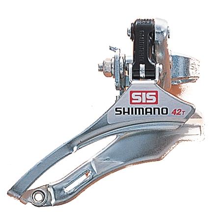 Câmbio Dianteiro Shimano 42T TY10