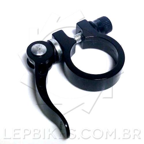 Abraçadeira de Canote 34.9mm C/ Blocagem Preta