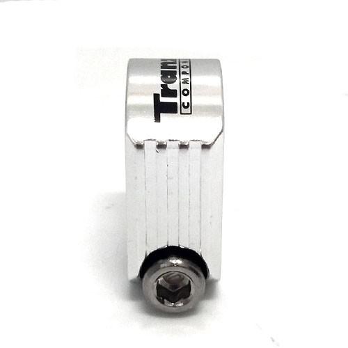 Abraçadeira de Selim / Canote com parafuso - 25.4mm - Tranz-X - Polido