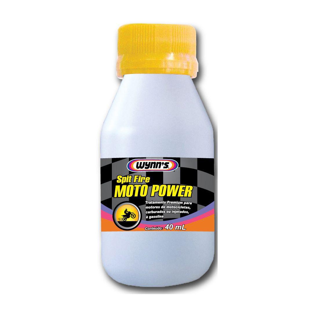 Aditivo de Combustível p/ Motos Spit Fire Moto Power Wynns - 40ml